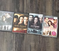 three assorted DVD movie cases Airdrie, T4B 1K5