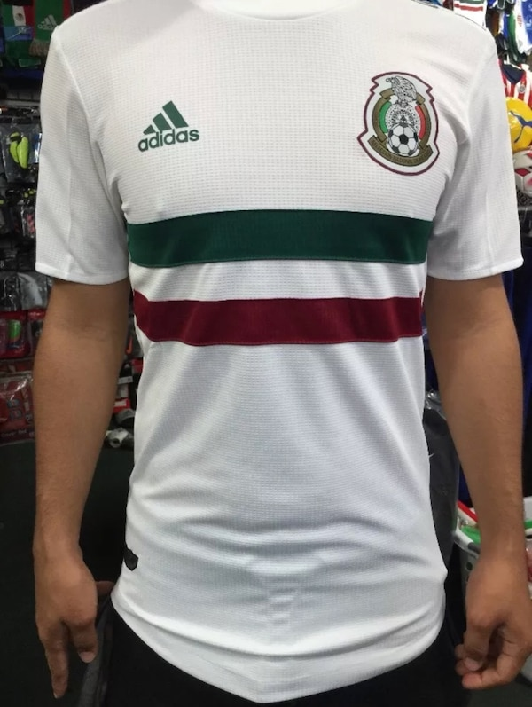 brand new 4b371 047b8 2018 Mexico authentic adidas climachill jersey