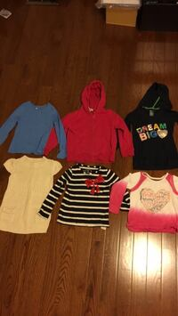 Girls shirts/ clothes- size 5 Mississauga, L4Z 0B4