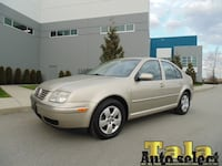 2004 Volkswagen Jetta GLS AUTOMATIC LOCAL ACCIDENTS FREE 179K! NEW WESTMINSTER