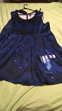 Doctor who dress plus size 4 ( 4XL )