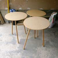 3 round side Tables Mississauga, L5L 4W2