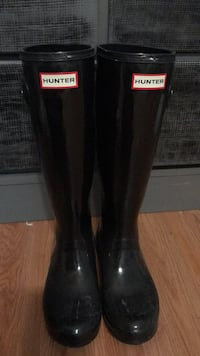 Hunter boots size 7 Morristown, 07960