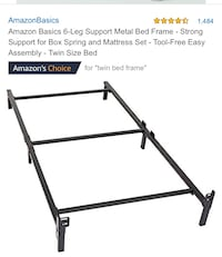 Twin Bed Frame UNOPENED BOX