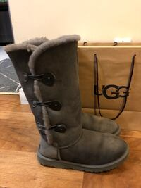 Grey Ugg Bailey Button Triplet Boots Burnaby, V5B 0A3