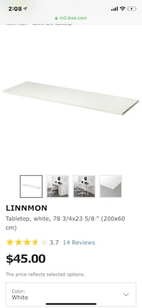 Linnmon table top Ajax, L1T 4T4