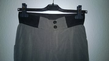 Carrot trousers with zippers on the side - Size XS