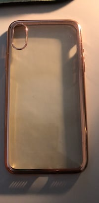 I Phone X Rose Gold Phone Case Raleigh, 27610
