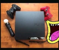 PlayStation 3 ps3, 2 kol, 1 guitar hero, 14 oyun HEPSİ BİR SATILIK