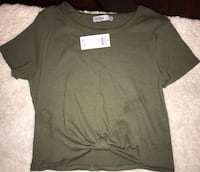 Shirt Size Medium color Green Olive from Hollister  2277 mi