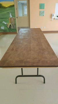 Large wooden table for sale. 8 feet by 30 meters