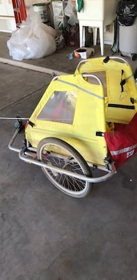 yellow and black bicycle trailer Lubbock, 79424