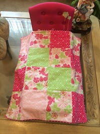 Pink American Girl doll's bed Jessup, 20794