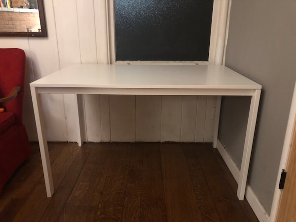 Used White Ikea Melltorp Table For In Palo Alto