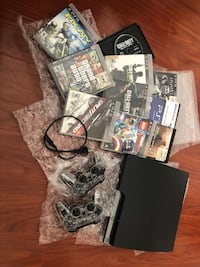 Ps3, 2 controllers, 10 games