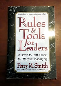 Rules and Tools for Leaders by Perry M Smith  Martinsburg, WV, USA, 25401