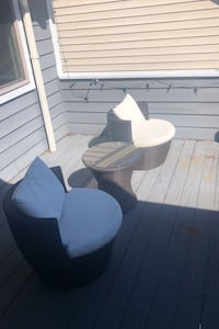 PRICE DROP Patio chairs and table.