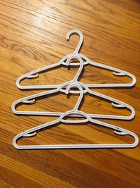 35 high quality, white plastic clothes hangers - A Edmonton, T5M 0V9