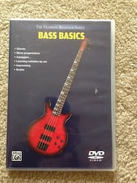 Bass Guitar Instructional DVD Springfield, 22152