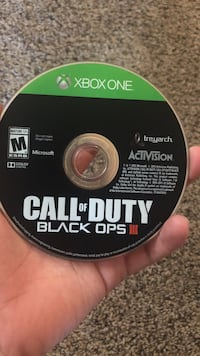 Call of Duty Black Ops III Xbox One game disc Whitewater, 53190