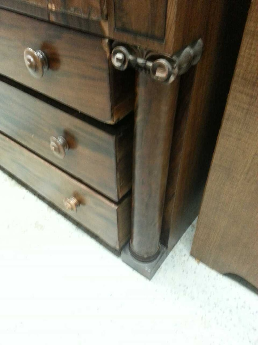 Used Antique Solid Wood Dresser In Fort Wayne