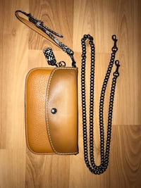 brown and black leather wristlet Falls Church, 22044