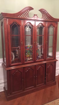 8 Chair Dining Room Set with China Cabinet Oak Brook, 60523