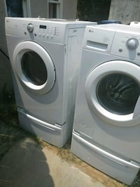 white front-load washer and dryer set Bakersfield, 93308