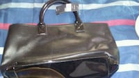 black and blue leather crossbody bag Calgary, T2A 1H1