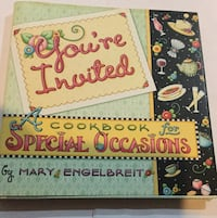 Cookbook special occasions signage brand new excellent for a gift