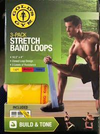 3-pack gold's gym stretch band loops Lafayette, 80026