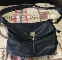 women's black leather hobo bag Barrie, L4N 5G8