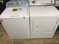"New Whirlpool Washer Top Load White and Used Kenmore Electric 220 Dryer 27"" Inch Wide  Haledon, 07508"