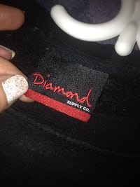 Men's diamond sweater