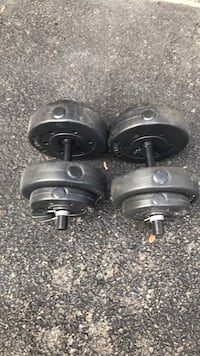 Dumbbells, pair of 20lb each Springfield, 22152