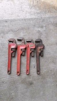 """10""""pipe wrenches. $5 ea. Portsmouth, 23704"""