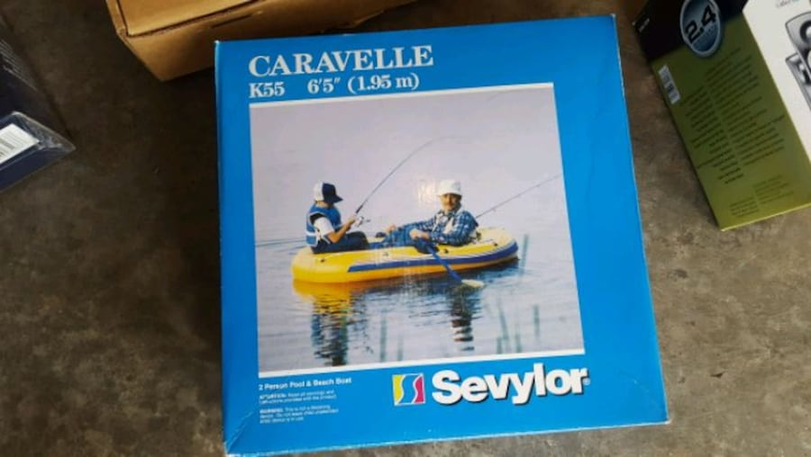 "Sevylar Caravelle 6'5"" 2-person pool & beach boat da9b8dd8-6881-45f6-a042-642ec0a3fb52"