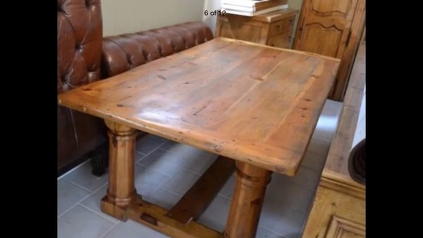 Used Ralph Lauren By Henredon Farm Dining Table Desk For Sale In