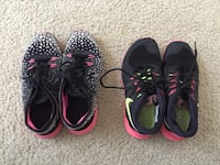 Nike sneakers, size 5, $5 each  Frederick, 21704