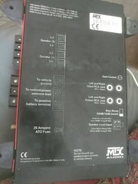 black and red power amplifier Woodland, 98674