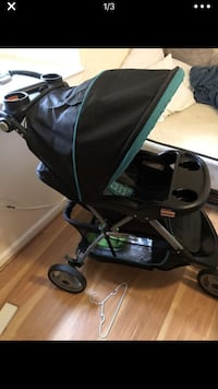 Baby's black and green stroller Hyattsville, 20783
