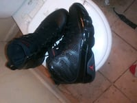 pair of black-and-red Nike basketball shoes Suitland-Silver Hill, 20746
