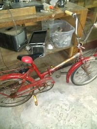 Antique working foldable bicycle Vancouver, V6A 4J1