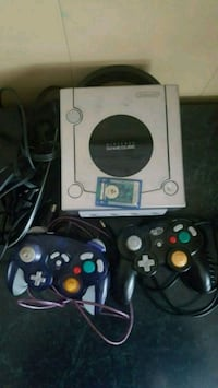 GameCube two controllers and memory card  Saint Thomas, N5P 2V9
