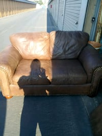 Leather love seat plus chair Antelope, 95843