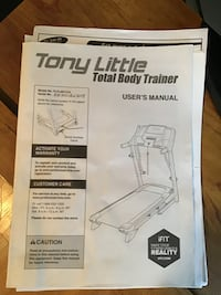 Tony Little Total Body Trainer Machine Brampton