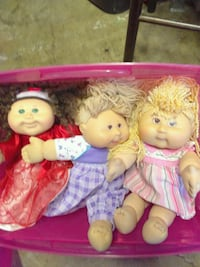 Cabbage Patch dolls and clothes Orange, 92867