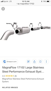 Magnaflo 17102 performance exhaust Baltimore, 21224