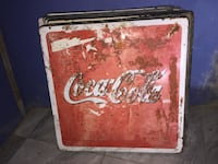 Old Mexico Coca Cola Metal Table Top  Weslaco