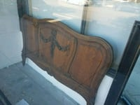 Victorian Antique Carved Wood Headboard  Los Angeles, 90291